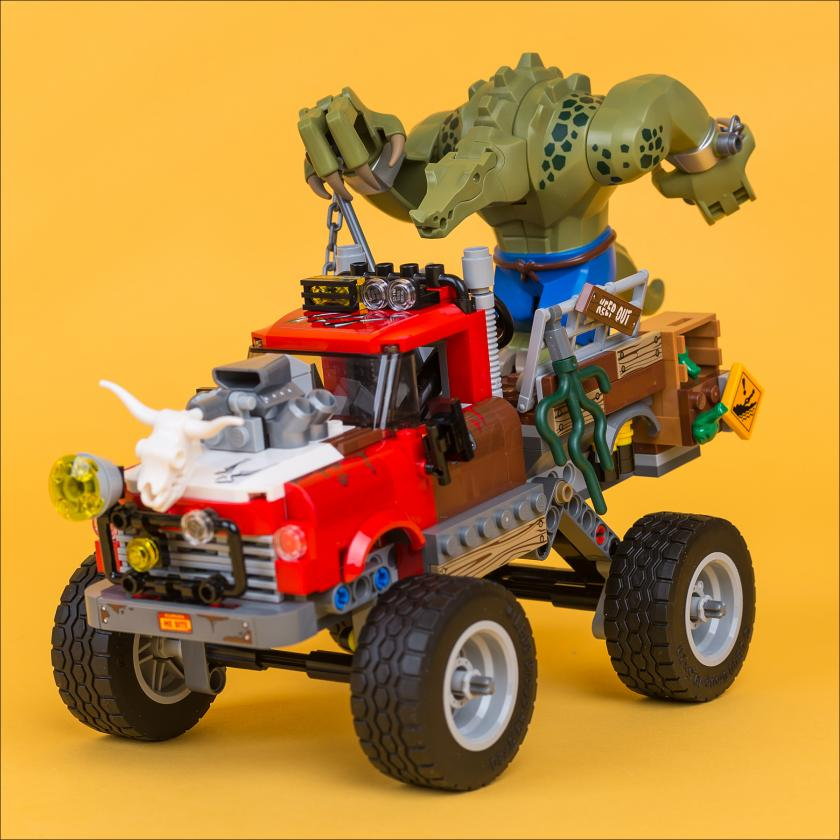 ОБЗОР НАБОРА LEGO 70907 KILLER CROC TAIL-GATOR