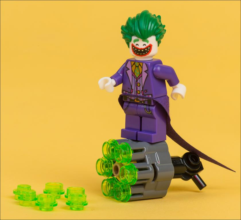 ОБЗОР НАБОРА LEGO 30523 THE JOKER BATTLE TRAINING